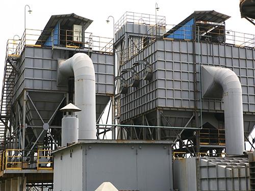 钢铁厂除尘器改造