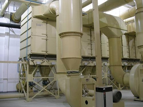 卷烟厂除尘设备改造