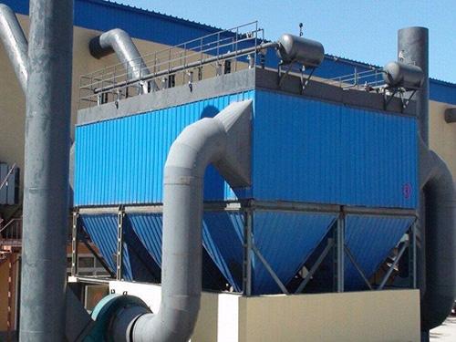 石膏板厂除尘器改造