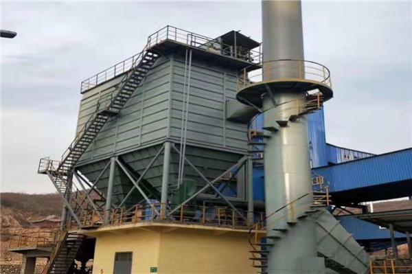 10吨锅炉布袋除尘器